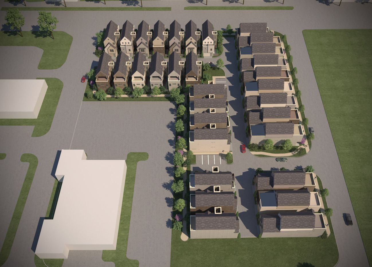 Centre Living Homes is building 32 houses at CityLine in Richardson.