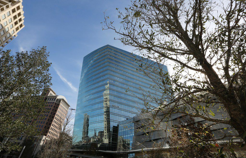 CrossFirst Bankshares operates one bank branch in Dallas, at the McKinney & Olive building in Uptown.