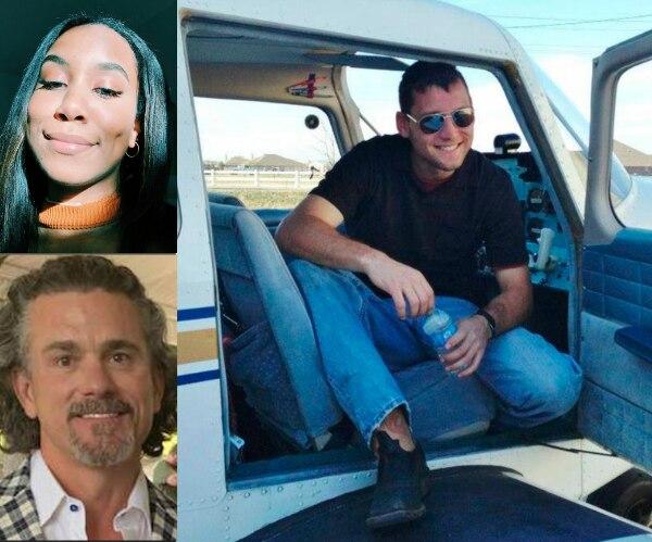 Brian Ellard, Alice Maritato y Matthew Palmer, tres de los 10 fallecidos en accidente en Addison. INSTAGRAM, VSCO, FACEBOOK.