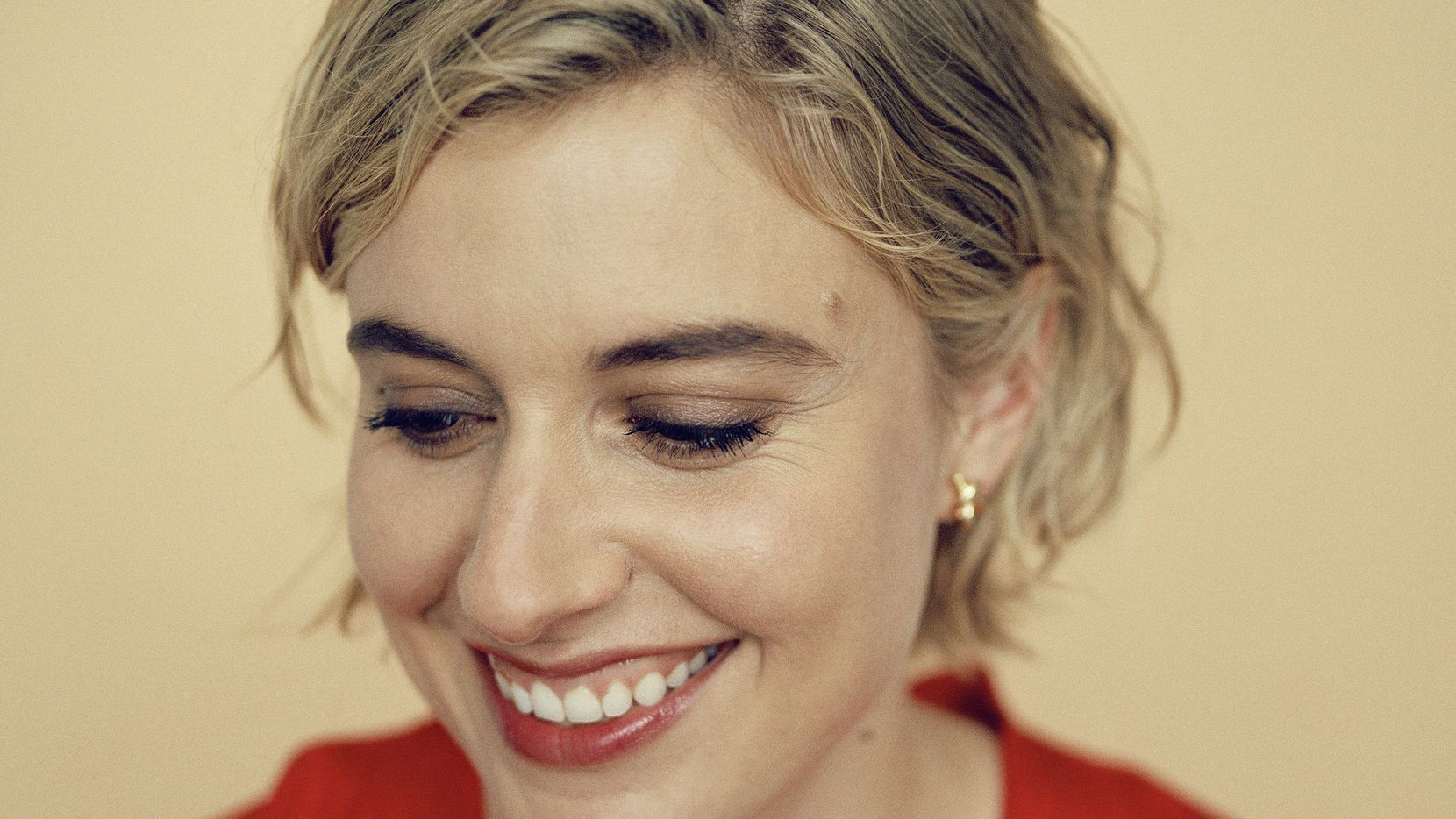 Five questions for the 'adorkable' actress/screenwriter