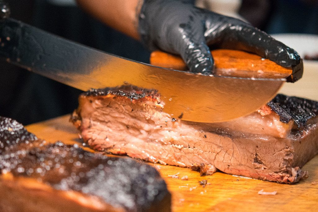 Sliced brisket from some of the best smokehouses in the Texas Hill Country and North Texas is among promised delights at the Fort Worth Food & Wine Festival's opening event.
