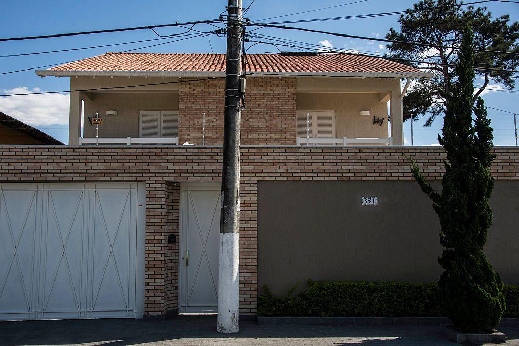 Esta es la casa de Aparecida Schunck en Brasil. GETTY IMAGES