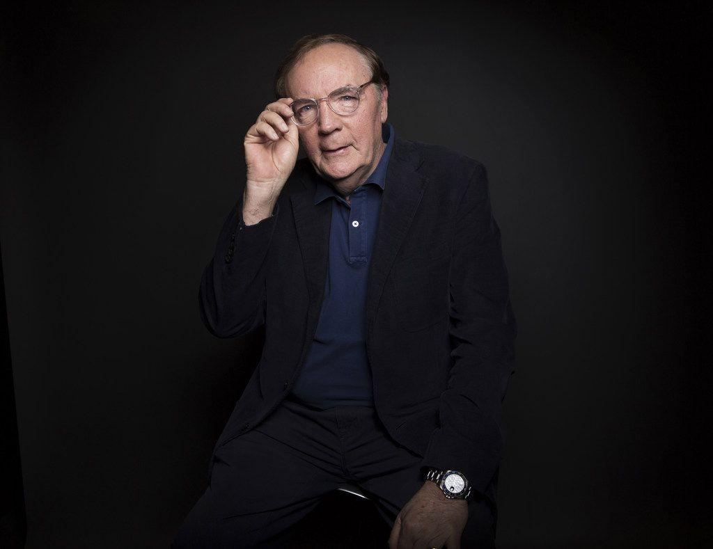 James Patterson in 2016. (Photo by Taylor Jewell/Invision/AP, File)