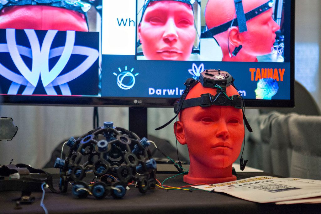 Darwin Ecosystem's machine learning system that helps individuals with disabilities communicate was a finalist in this spring's South by Southwest conference's Interactive Innovation Awards.