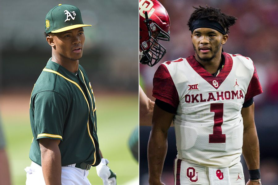 Kyler Murray the outfielder, and Kyler Murray the quarterback.