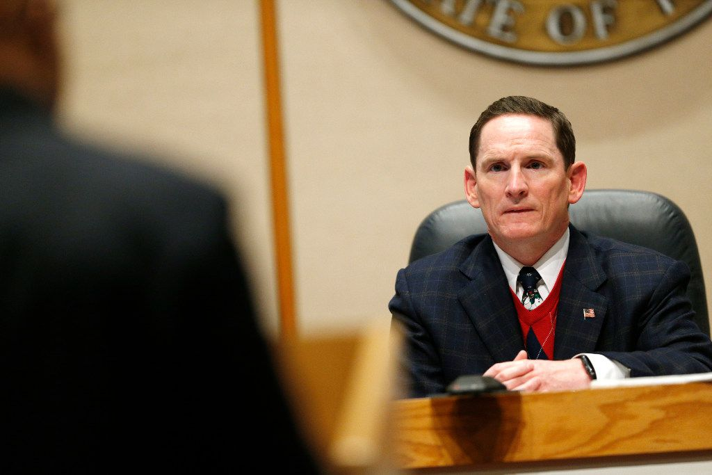 Dallas County Judge Clay Jenkins said he hopes the county can end or reduce some criminal fines and fees in order to help prevent defendants from having to make tough choices, such as whether to pay fines or pay for child care.