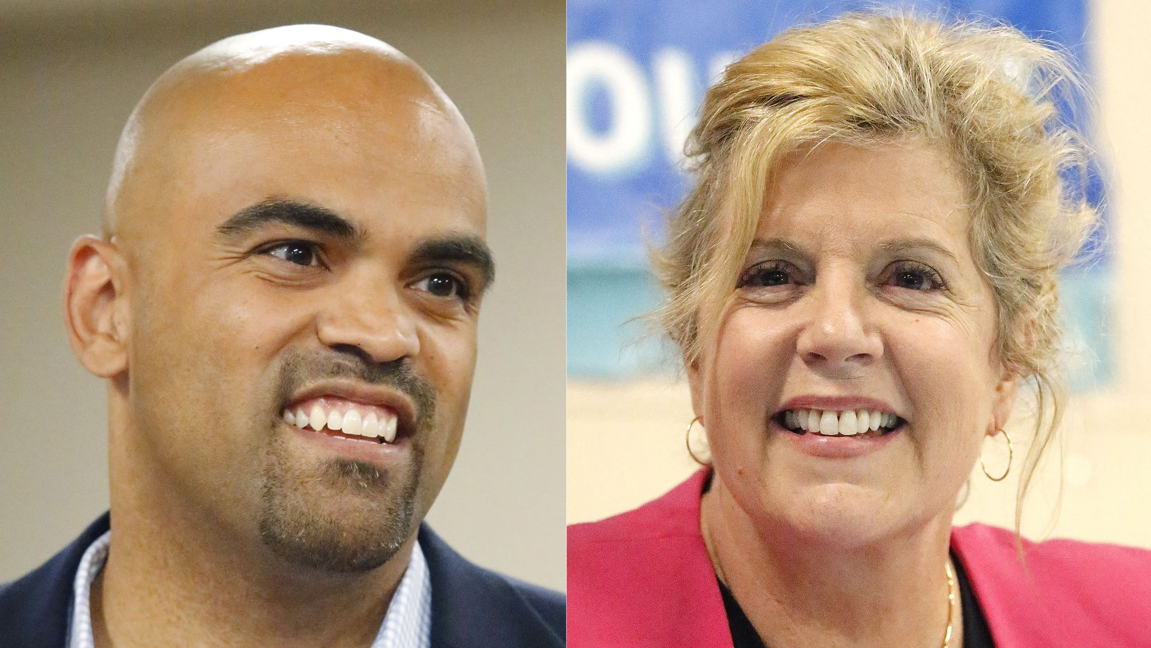 Colin Allred and Lillian Salerno are facing off in a Democratic primary runoff for the chance to face Republican Rep. Pete Sessions in the race for the 32nd Congressional District.
