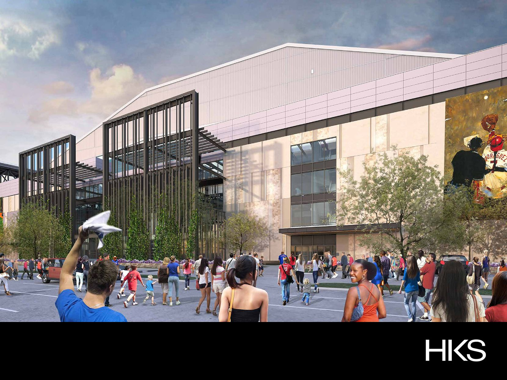 See renderings of the new Texas Rangers' stadium set to open