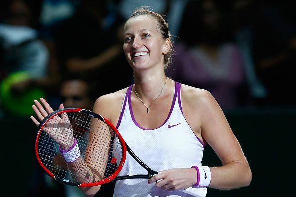 Petra Kvitova ganó dos veces el Grand Slam de Wimbledon. Foto GETTY IMAGES