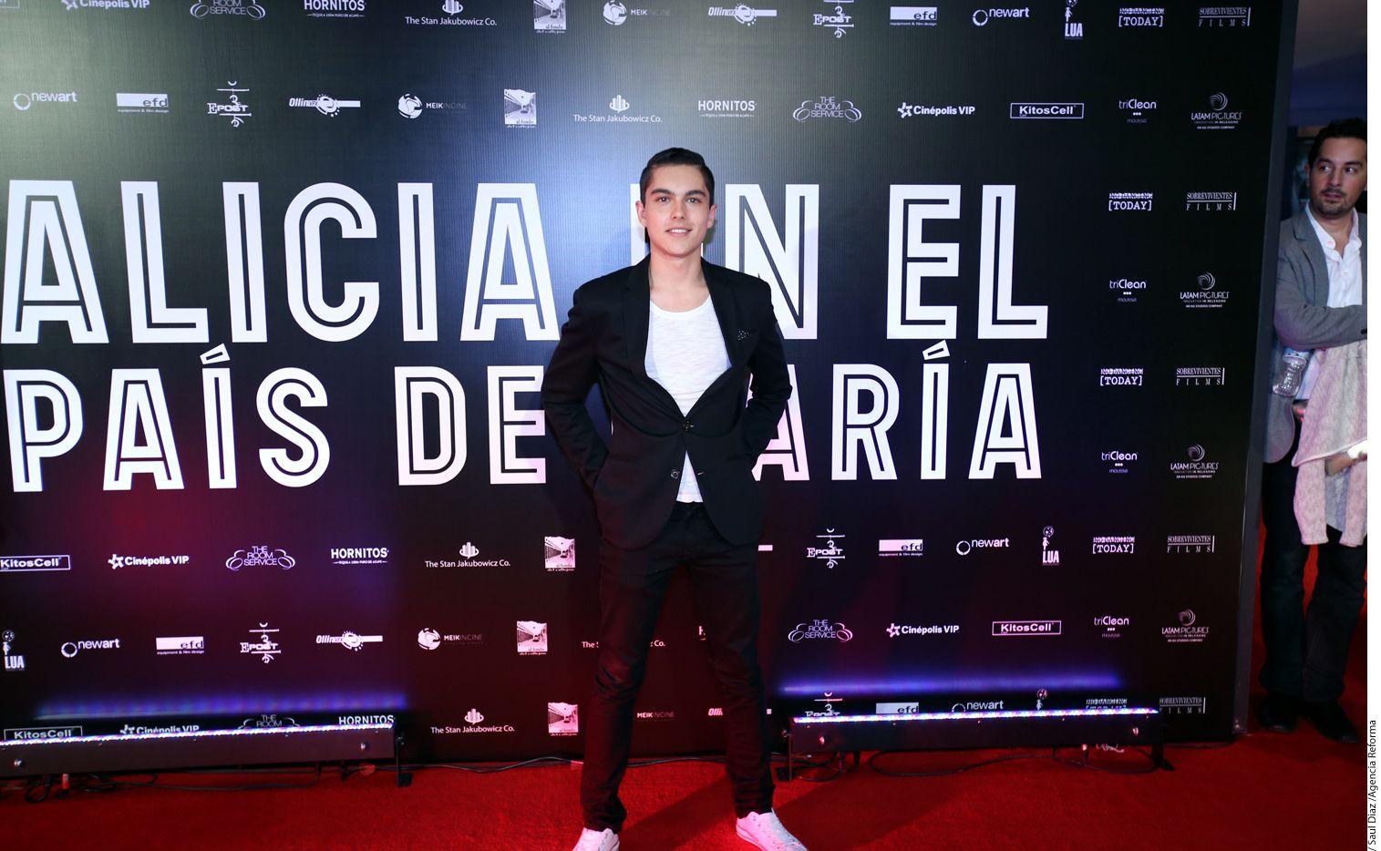 Sergio Mayer Mori conoció a su novia, la brasileña Natalia Subtil, de 28 años, en enero pasado, mientras filmaban la película El Patriarca./AGENCIA REFORMA