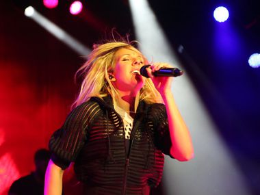 Ellie Goulding performs at South Side Ballroom in Dallas on Tuesday, March 25, 2014.