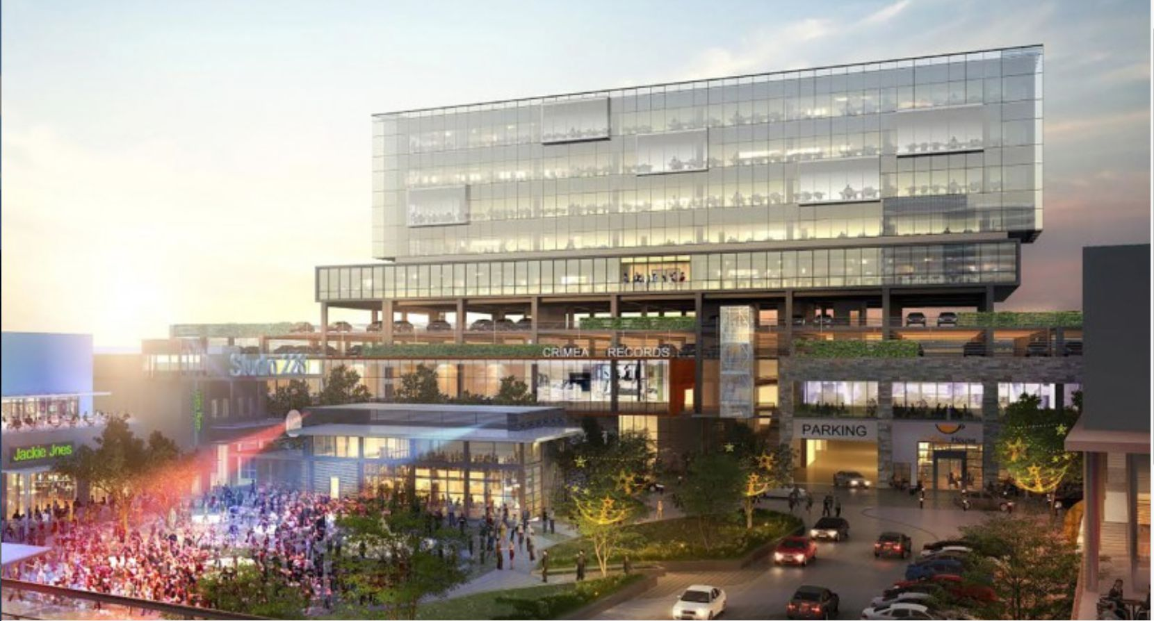 The Irving Music Factory project in Las Colinas will include retail, restaurant, entertainment and office space.