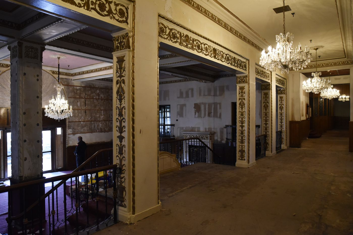 The main lobby inside the historic Ambassador Hotel seen in January 2019.
