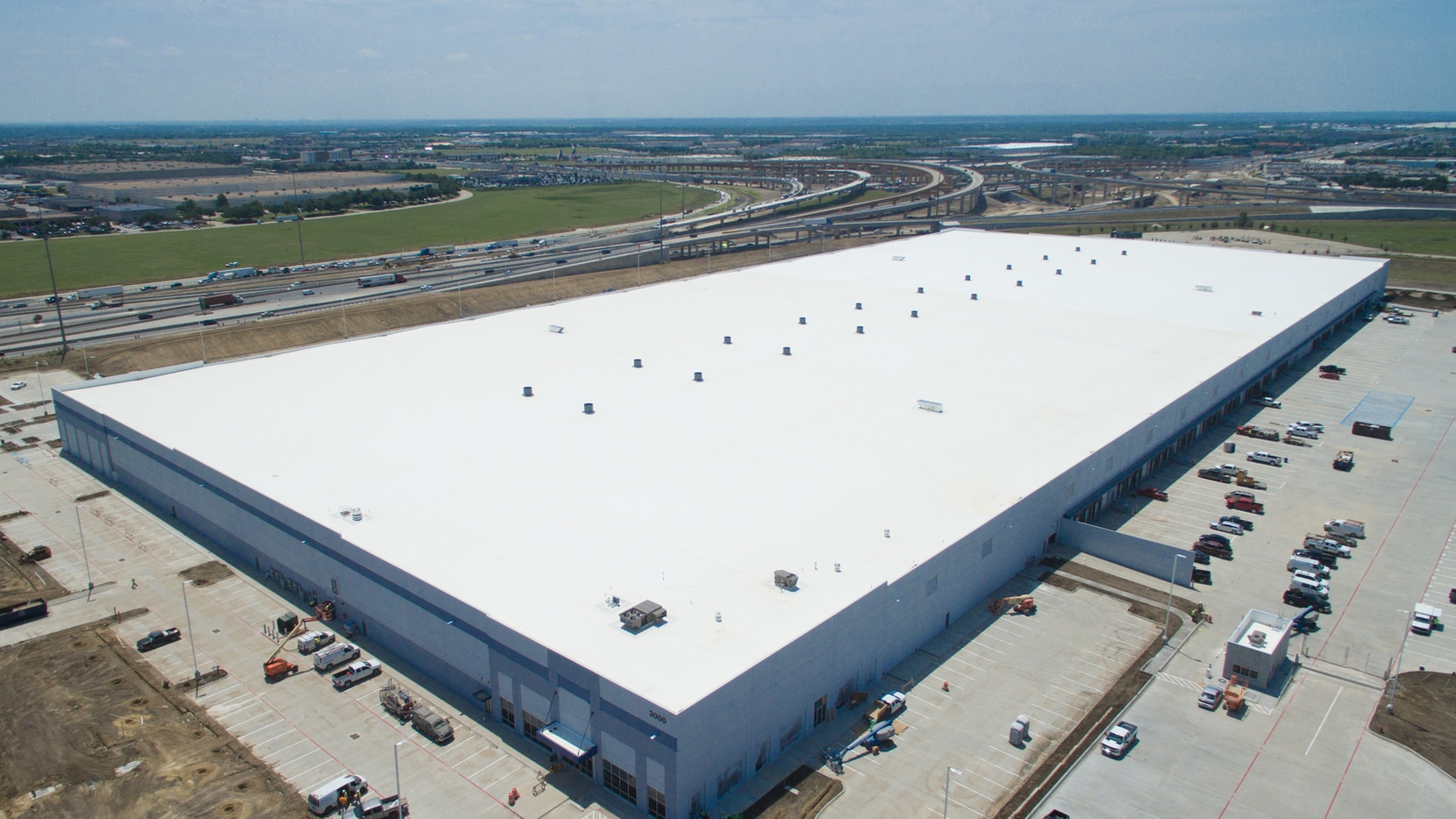The new warehouse in North Fort Worth is leased to Campbell Soup and was bought by Transpacific Development Co. of California.