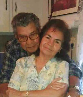 En esta foto sin fecha provista por Virginia Saldívar, se ven suegros, Belia y Manuel Saldívar, quienes fallecieron cuando su camioneta van se hundió en Green Bayou, en el este de Houston. Cuatro de sus bisnietos iban con ellos. Foto de VIRGINIA SALDÍVAR MEDIANTE AP