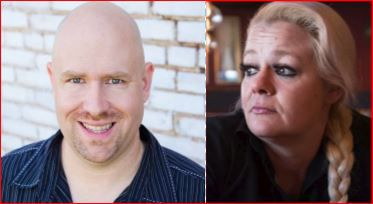 David A. Kost Jr. (left) owns 1and2 Automotive in northwest Dallas. Christal Scott (right) took him to small claims court over a car repossession.