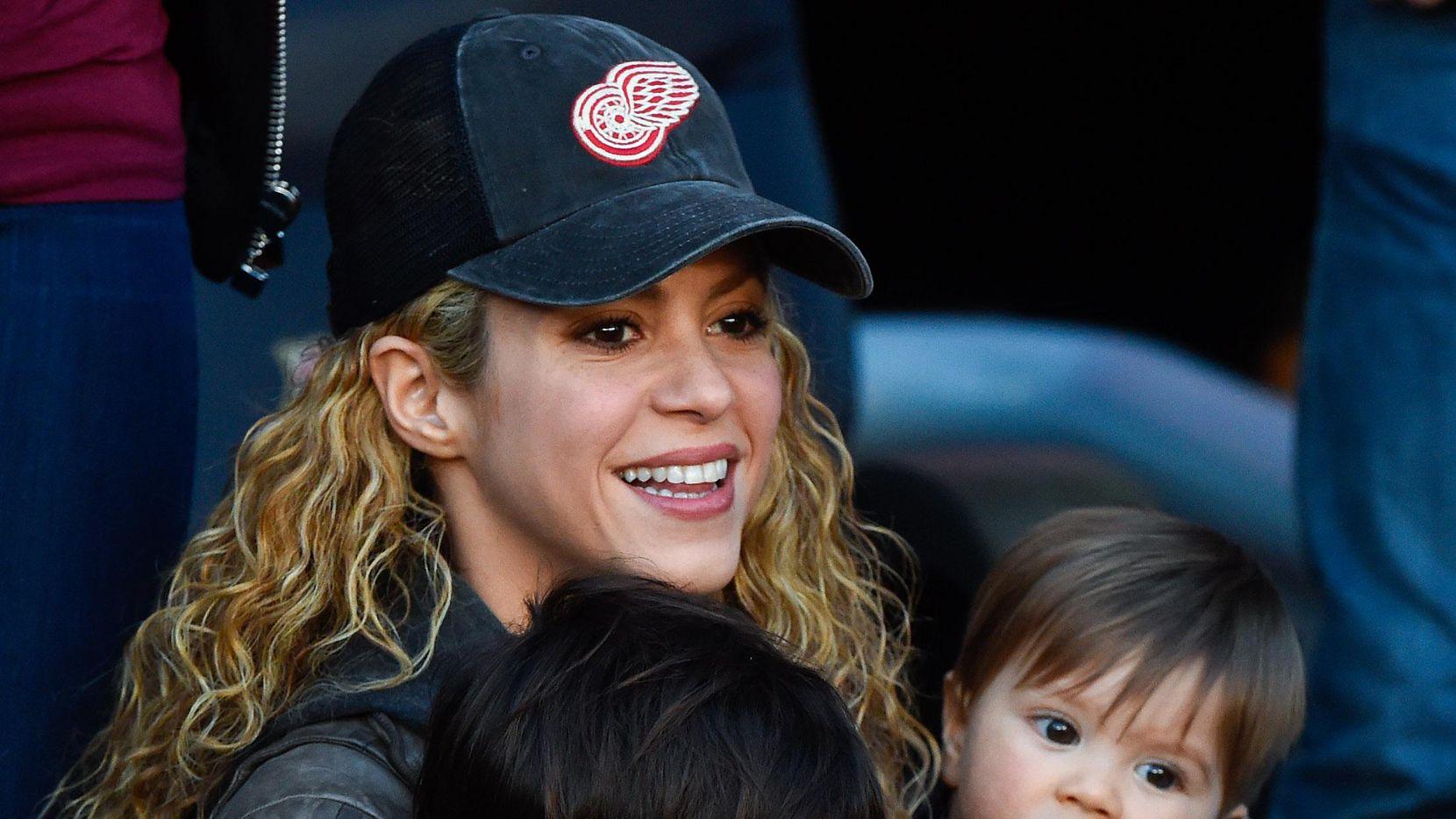 Shakira con sus hijos Milan y Sasha. (Getty Images/David Ramos)