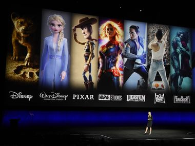 Verizon is offering new and current customers a free year of Disney+ as the battle for streaming customers heats up. (Photo by Chris Pizzello/Invision/AP, File)