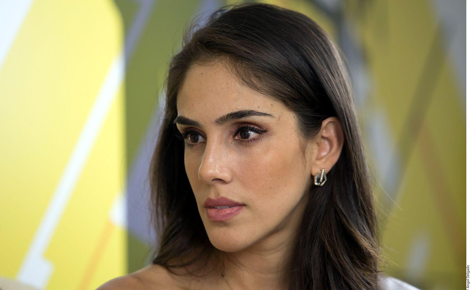 Sandra Echeverría (foto) ya tuvo conversaciones con la productora Carmen Armendáriz para encarnar a María Félix en una bioserie. (AGENCIA REFORMA)