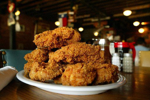 Fried Chicken served family-style at Babe's Chicken Dinner House in Roanoke.