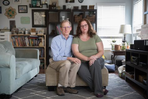 Elizabeth Moreno was billed $17,850 for a urine test in January 2016. After Moreno's insurer declined to pay any of the bill because the lab was out-of-network, her father, Dr. Paul Davis, paid the lab $5,000 to settle the bill. (Julia Robinson for KHN)