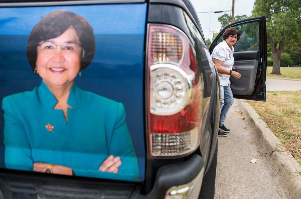 """Democratic gubernatorial nominee Lupe Valdez has begun attacking Gov. Greg Abbott for putting big campaign contributors on plum boards such as the Parks and Wildlife Commission and university boards, calling it """"pay for play."""" (File Photo/Carly Geraci)"""