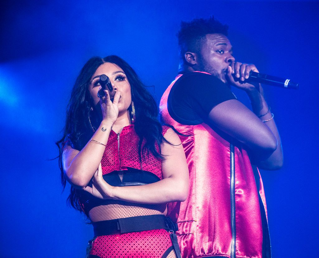Pentatonix, made up in part of Kirstin Maldonado and Kevin Olusola, is the world's most famous a cappella group.