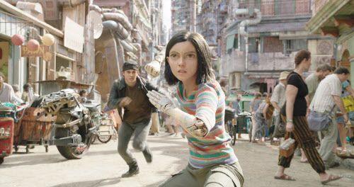 Rosa Salazar protagoniza Alita: Battle Angel, que se estrena en San Valentín 2019.  Twentieth Century Fox