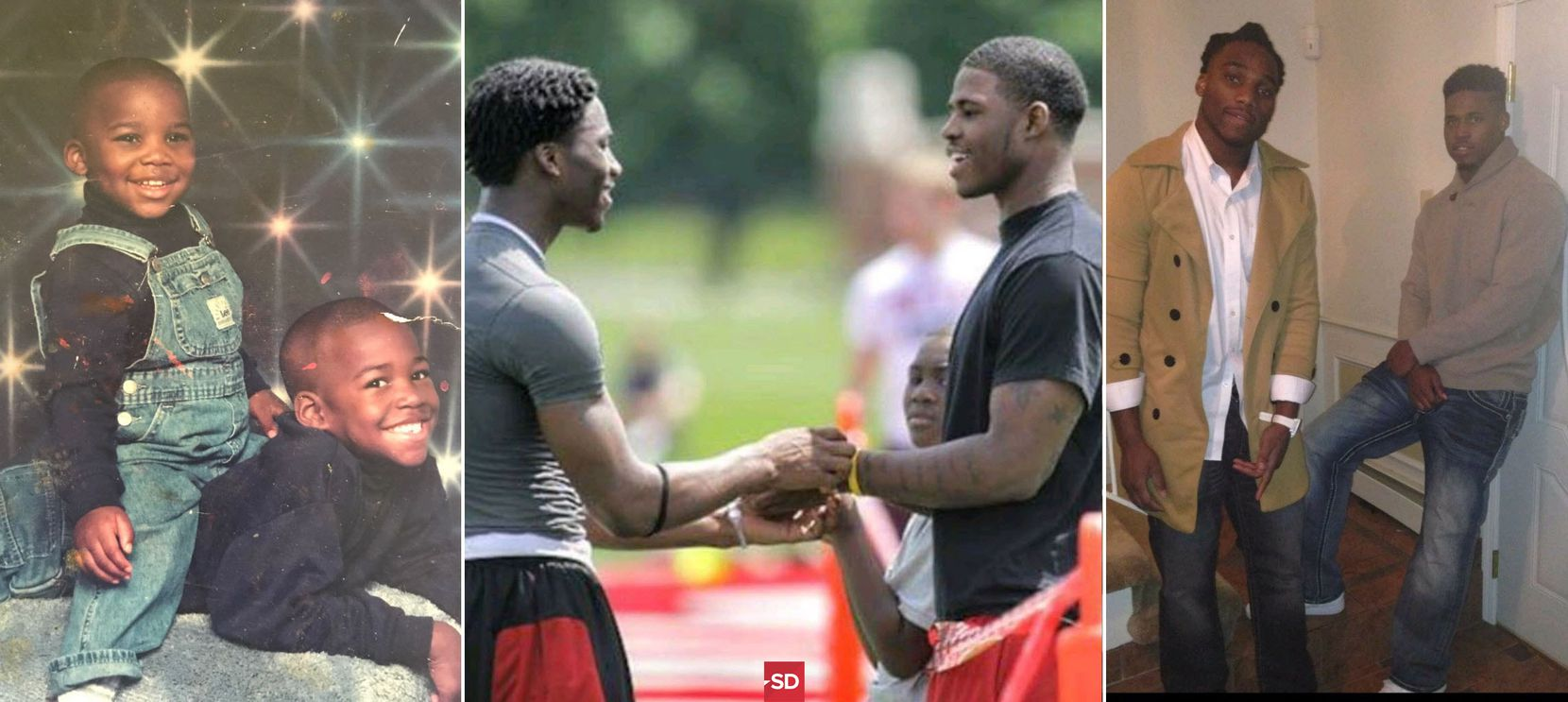 The 'surreal' path brothers Jaylon, Rod Smith took to the