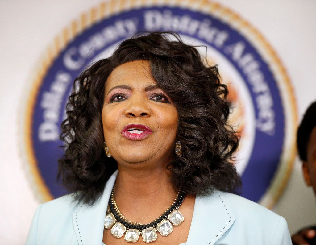 Former Dallas County District Attorney Faith Johnson is fighting a subpoena to testify at a hearing for fired Dallas police officer Amber Guyger. Guyger is charged with murder after shooting Botham Jean in his apartment last September.