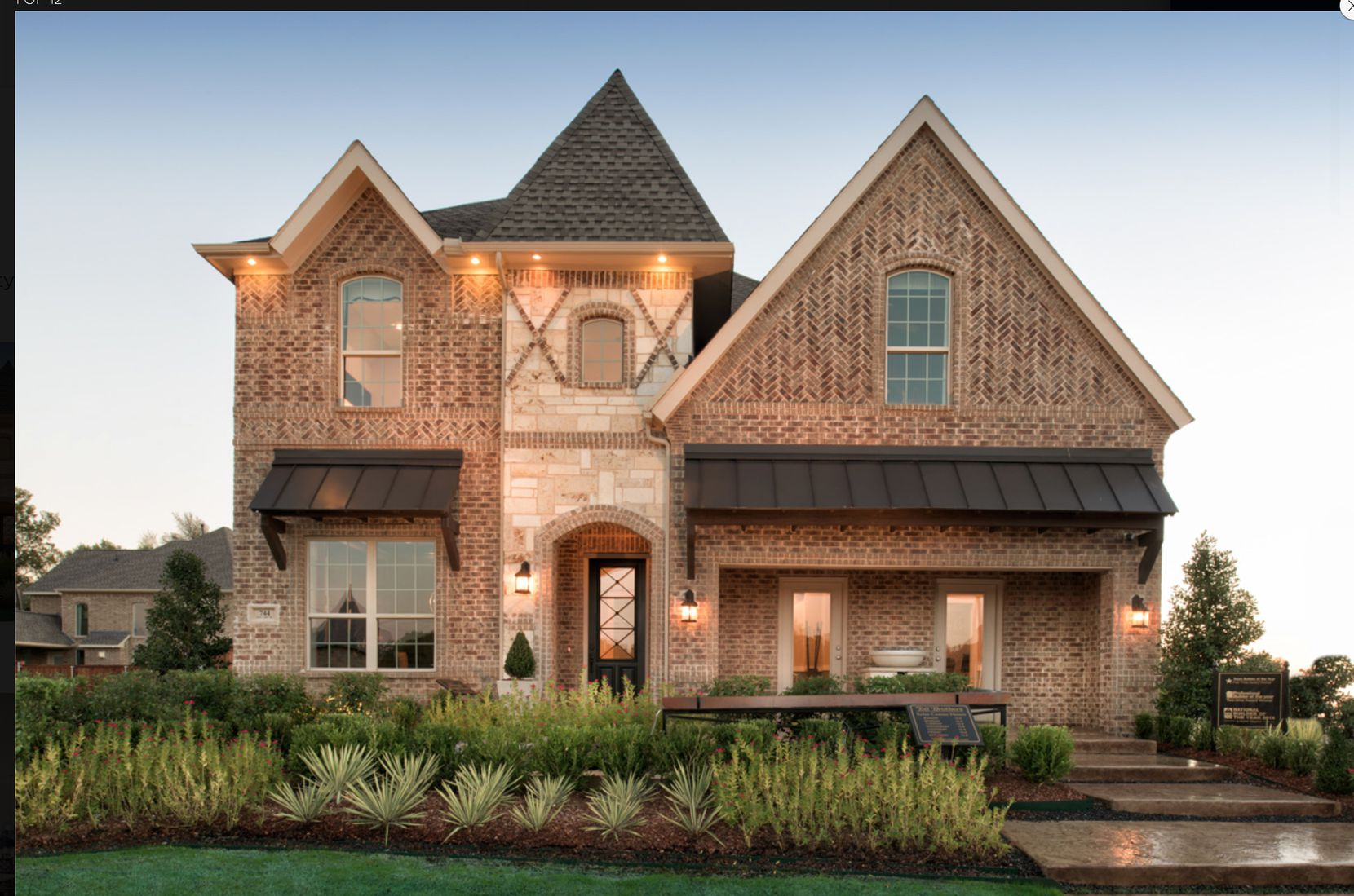 """Toll Brothers builds more than 300 luxury single-family homes a year in North Texas, including this $750,000 """"country manor"""" house in Coppell."""