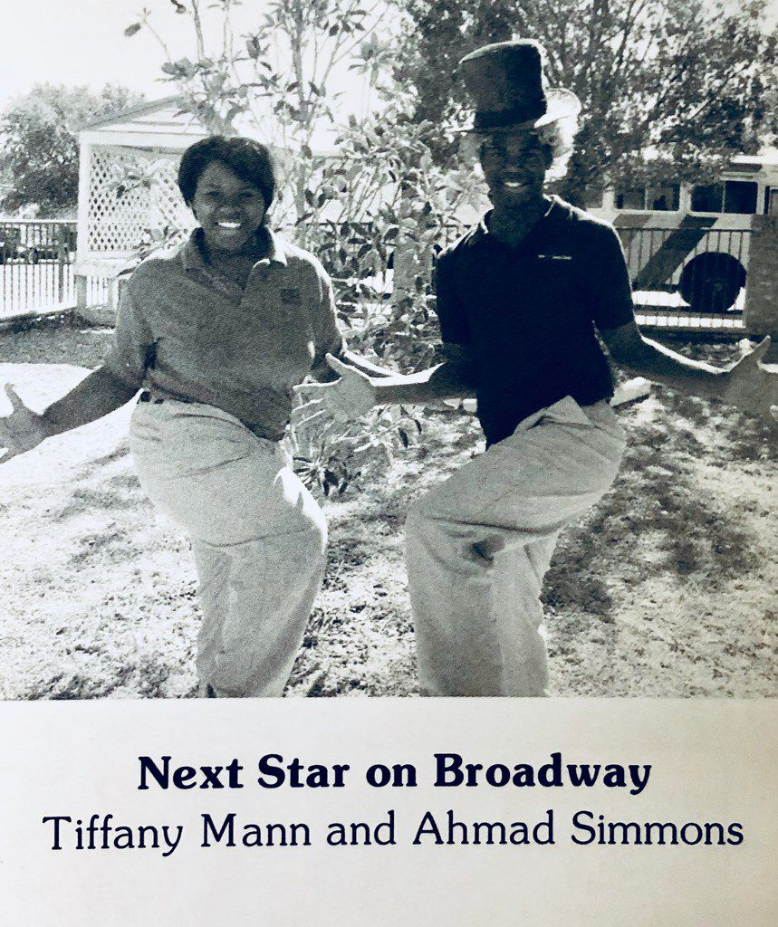 Tiffany Mann and Ahmad Simmons (from the Fort Worth Academy of Fine Arts yearbook of 2006).