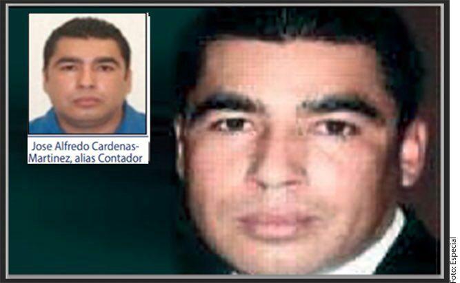 """José Alfredo Cárdenas, """"El Contador"""", habría sido arrestado por la Marina de México. AGENCIA REFORMA"""