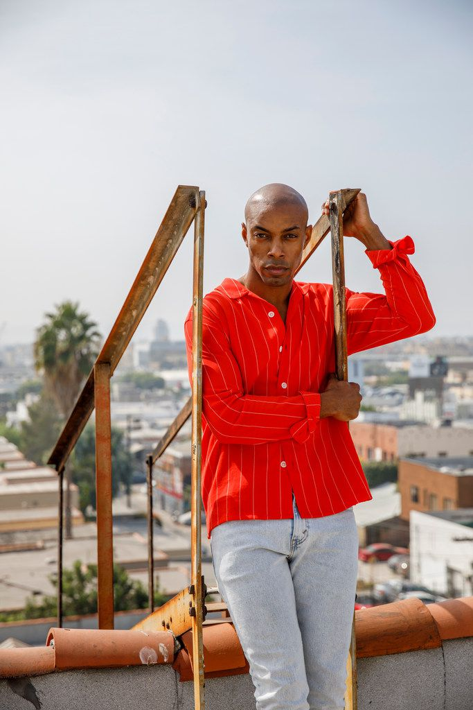 Author Casey Gerald stands for a portrait on Friday, September 28, 2018 in Los Angeles. Gerald, who grew up in Oak Cliff, played football at Yale, before receiving an MBA at Harvard