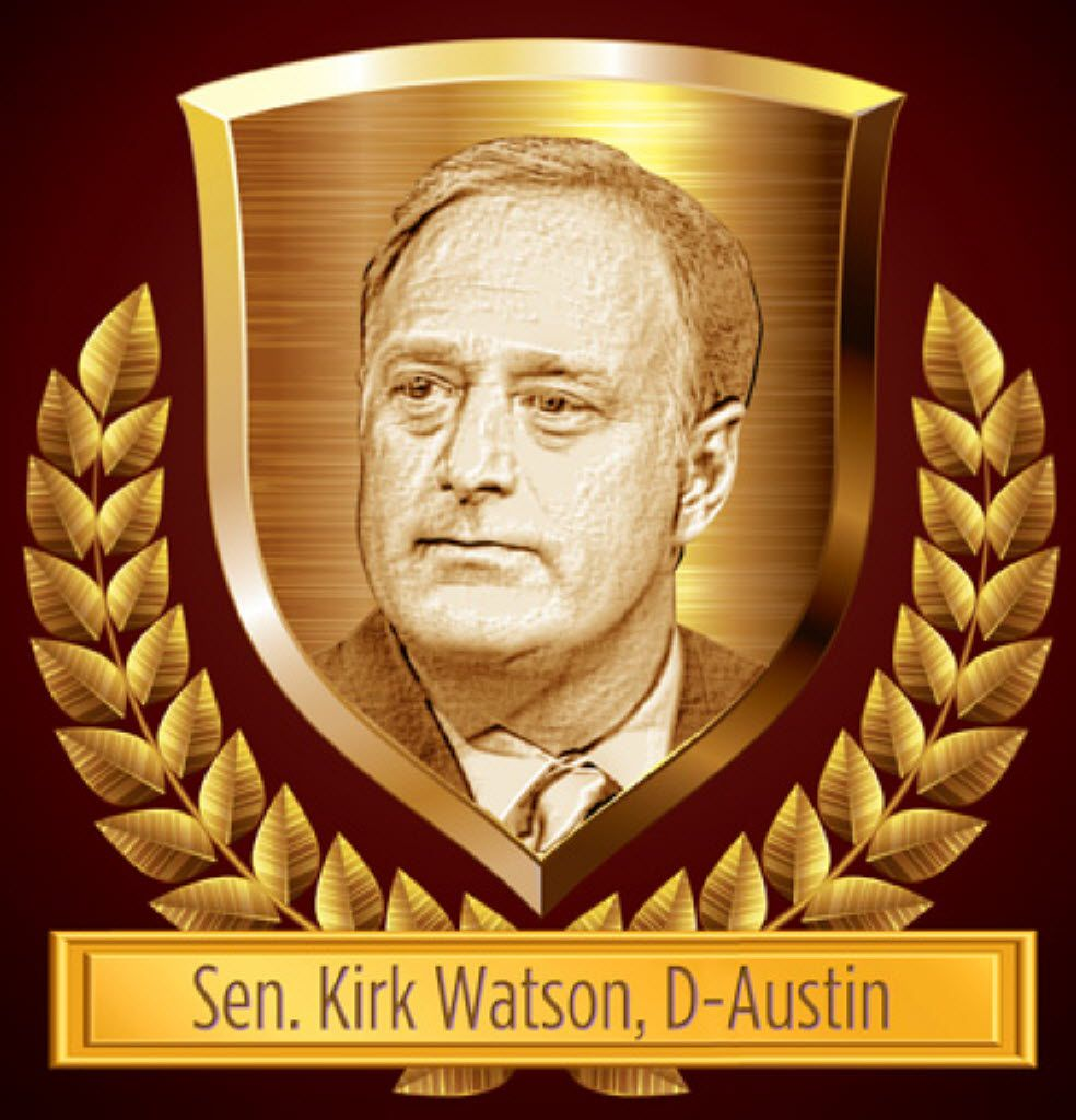 Sen. Watson fought for insurance protections for Texas consumers.