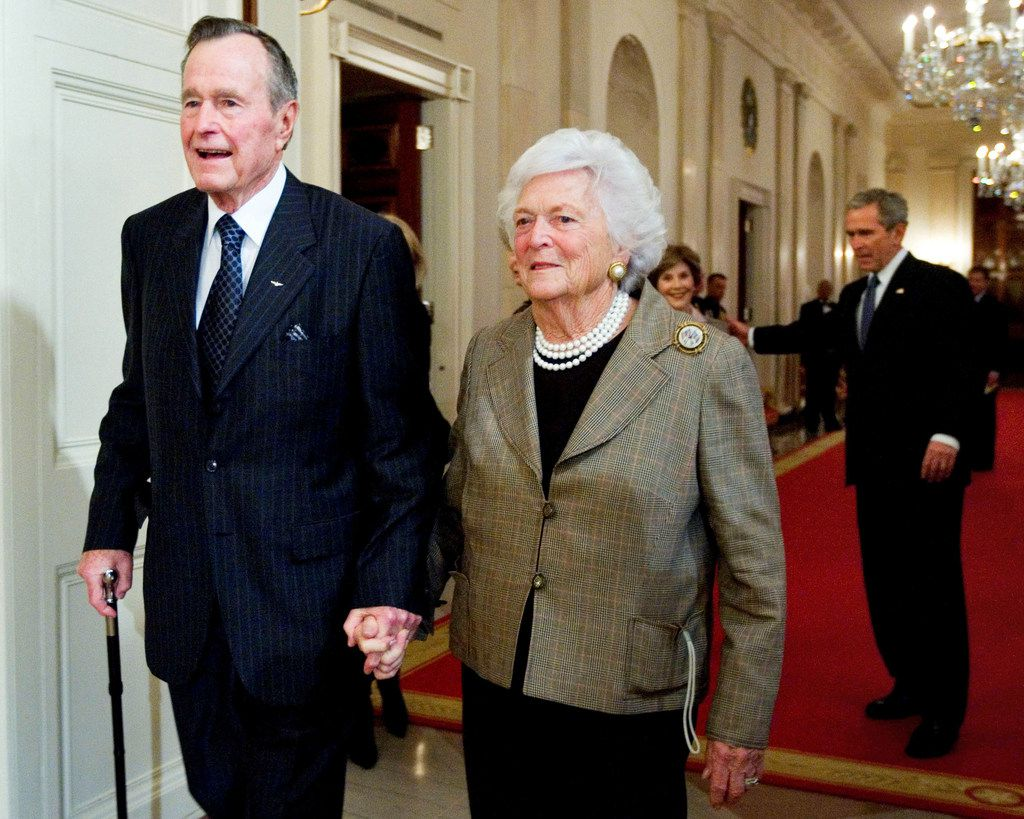 A new book reveals that former first lady Barbara Bush did not consider herself a Republican after Donald Trump took office.
