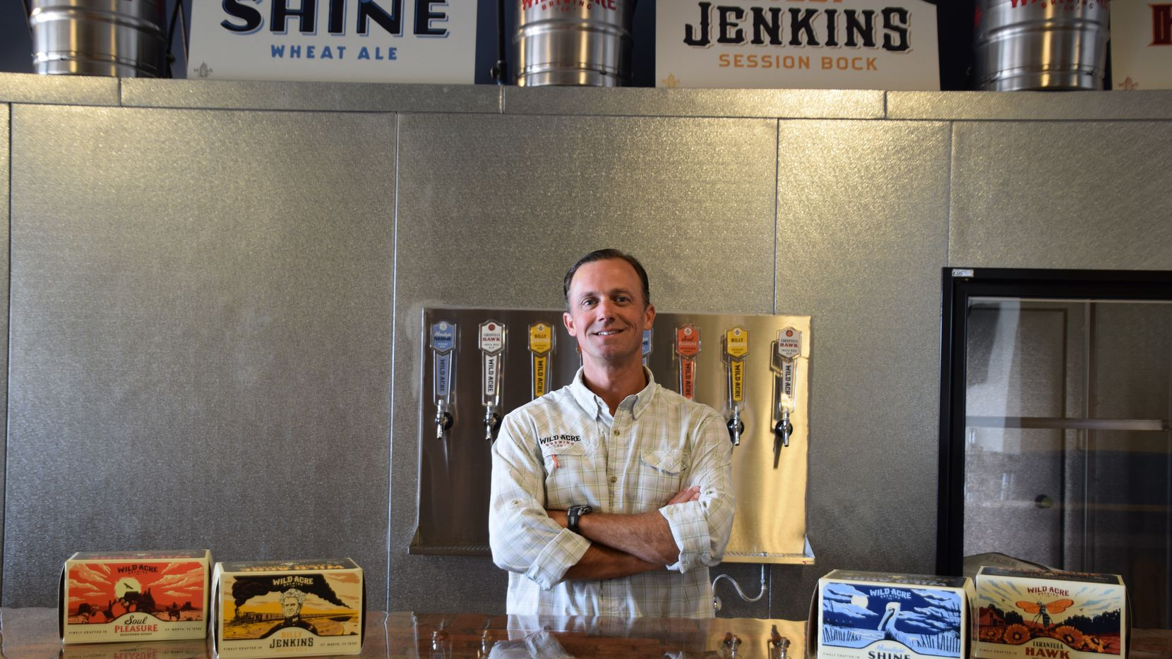 John Pritchett, founder and CEO of Wild Acre Brewing Co.