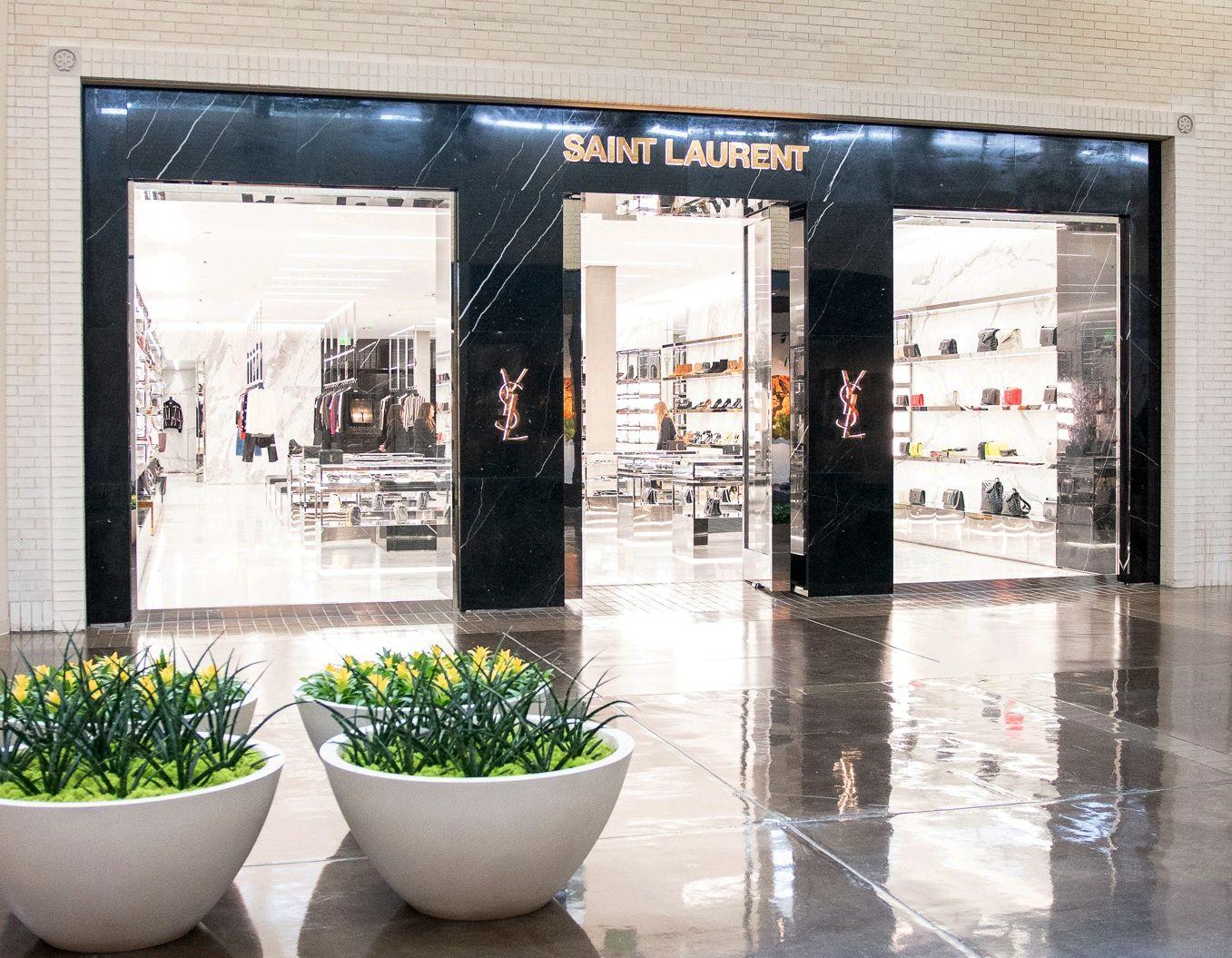 Saint Laurent opened in June 2019 at NorthPark Center in Dallas.
