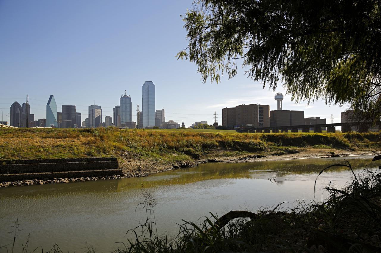 Un parque en el sector del río Trinity podría costar $250 millones. Dallas ya recibió la donación de la quinta parte. (DMN/G.J. McCARTHY)