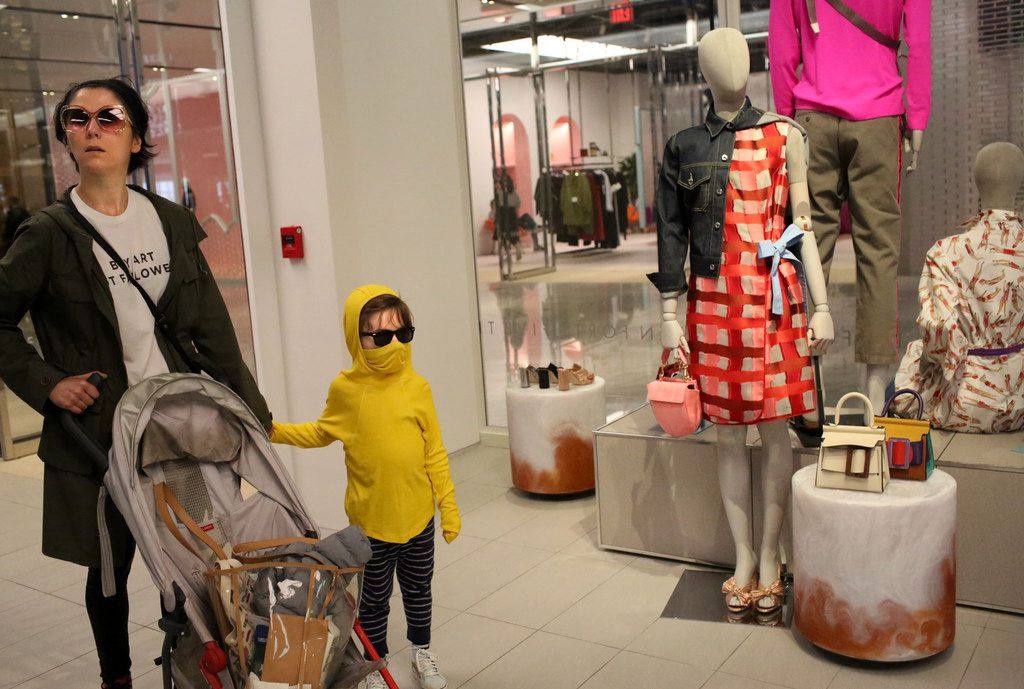 Shoppers got a first look at Forty Five Ten on Friday.