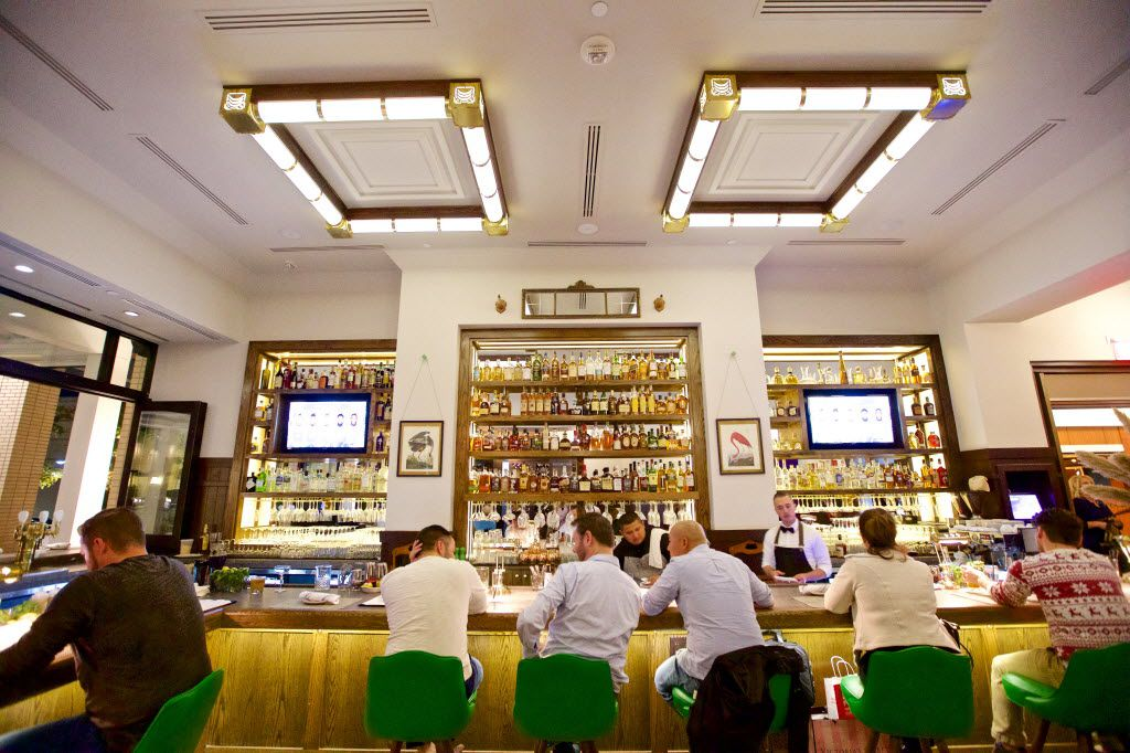 The bar at the Theodore