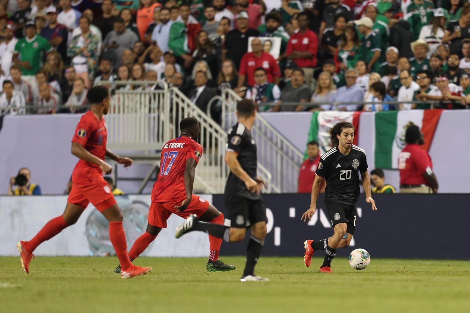 Rodolfo Pizarro y el Tri jugaron este domingo 7 de julio la final de la Copa Oro 2019 frente a Estados Unidos. Foto por Omar Vega para Al Día