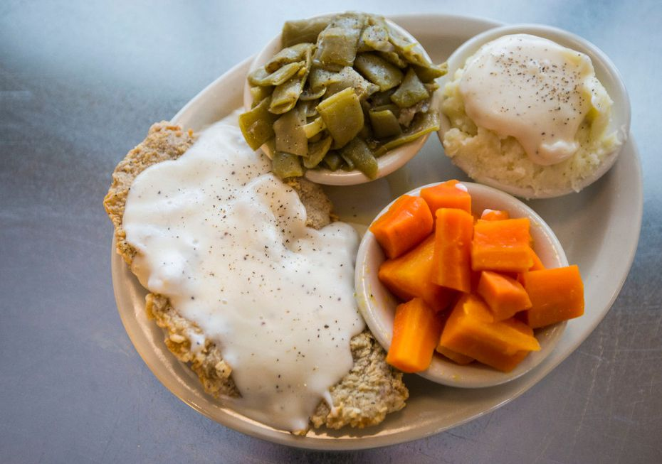 Norma's Cafe is selling chicken-fried steak, meatloaf or chicken with dressing for $1.79 on June 25.