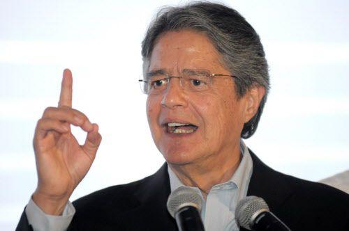 Guillermo Lasso podría reunir los votos del resto de candidatos opositores para una segunda vuelta. AFP-Getty Images