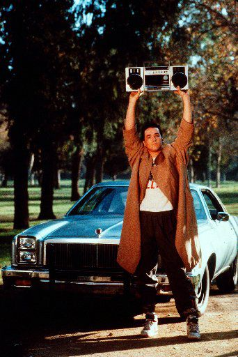 John Cusack as Lloyd Dobler in 1989's 'Say Anything'