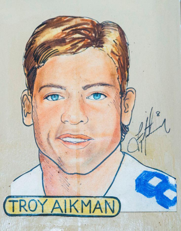 Former Dallas Cowboys quarterback Troy Aikman.