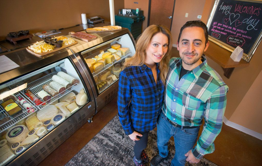 Couple Jennifer Gentry and Harold Gonzalez own The Salty Cow in Lewisville.