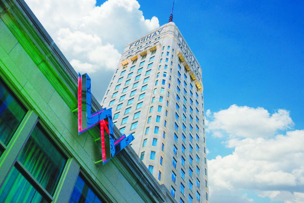 W Minneapolis is a contemporary hotel housed in the historic Foshay skyscraper dating back to 1928.