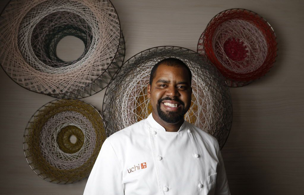 """Nilton """"Junior"""" Borges, Uchi Dallas'  chef de cuisine. Borges is a native of Brazil who comes to Dallas by way of New York City, where he was executive chef at Amali, a Mediterranean restaurant."""