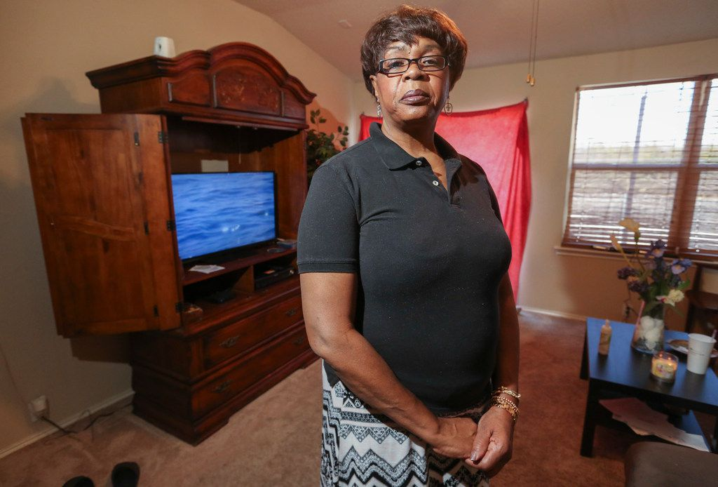 Vera Thomas in her Glenn Heights residence on Jan. 17, 2018. A judge ruled that her student loans did not create an undue hardship for her despite her health problems and unemployment.